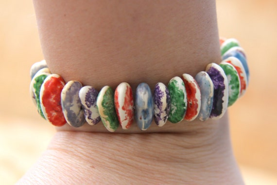 beans bracelet from etsy shop treasuresgrstore