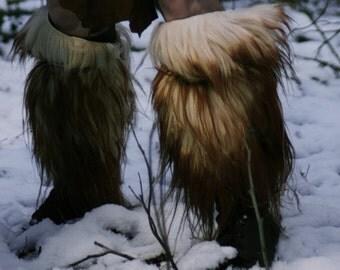 Fur Legwarmers