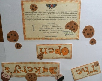 Baking Cookies Paper Piecing Kit