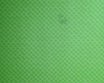 12x12 Apple Green Polka Dots Paper
