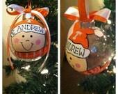Male or Female Personalized Ornament
