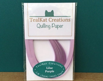 Lilac Purple Quilling Paper