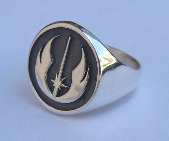 Star Wars Jedi Order Insignia Rebel Ring Sterling Silver 925