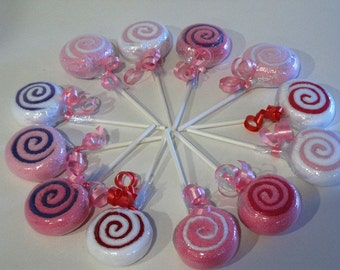 12-Piece Washcloth Lollipops
