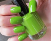 Light Green Nail Polish- Lime Body Shot Vegan Nail Polish