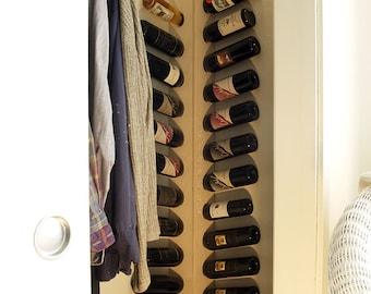 wall mounted wine rack for corners