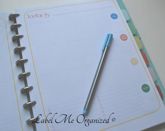 Perpetual Daily Planner - Letter Sized