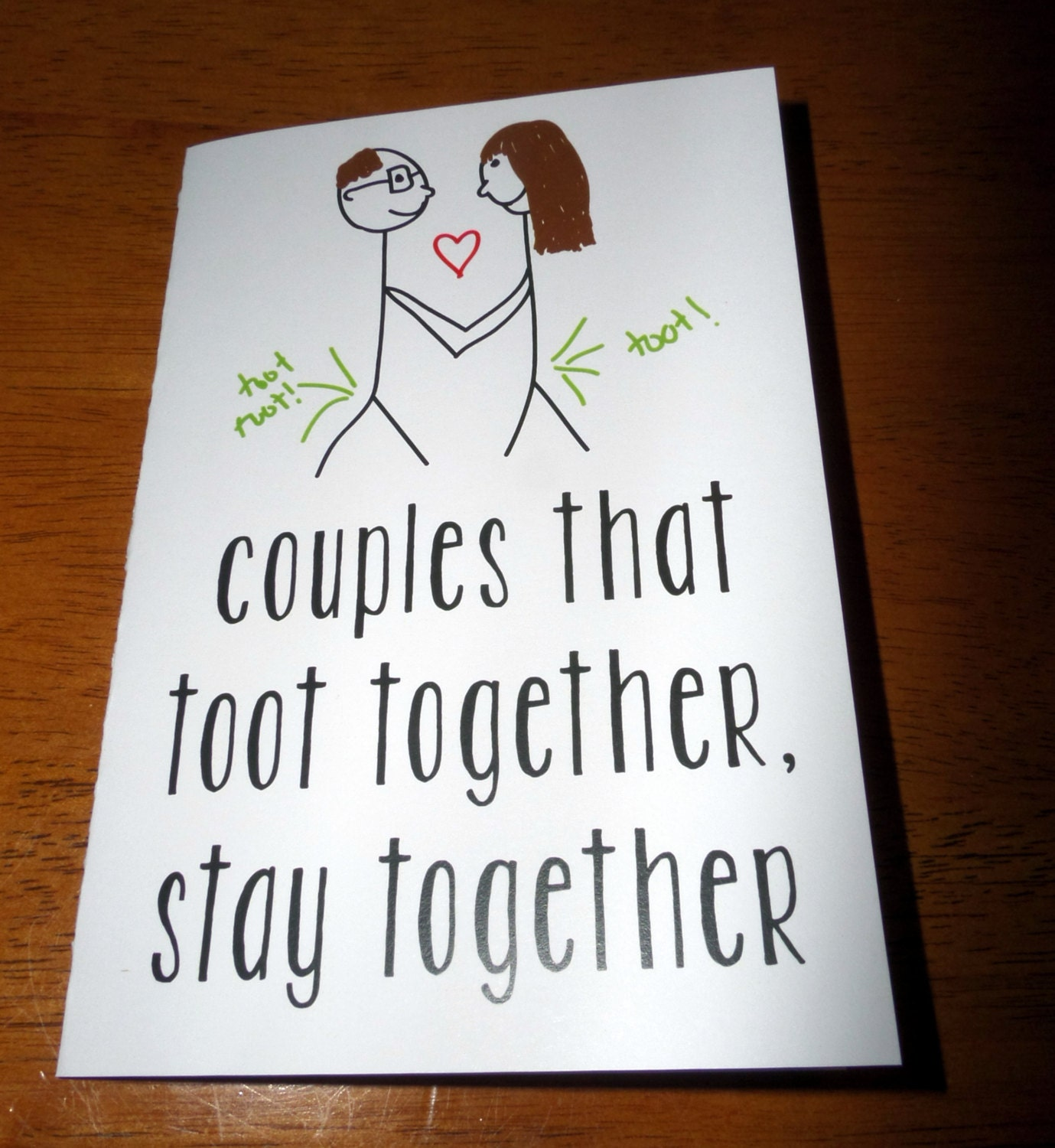 Fart card – Funny Valentines Cards for Him