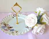 Single Tier Cake Stand - Plate with Handle, High Tea Stand, Jewellery Stand - MarciandMe
