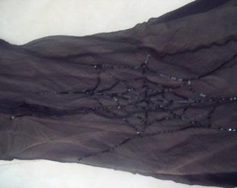 signed duerre silk dress sz. 42