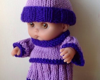 Winter outfit for an 8 inch Berenguer doll