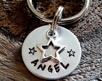 Small Dog Tag  / Personalized Pet ID Tag / Cat Tag / Pet Tag / Pet ID Tag / Custom Pet ID Tag / Pet Accessories
