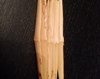 Shaped Oboe Reed Cane