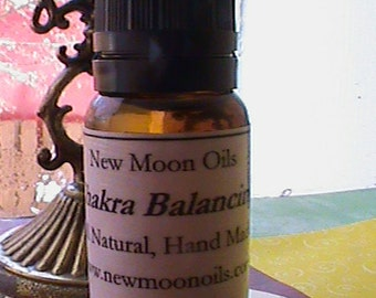 All Natural Chakra Balancing Oil