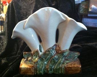 McCoy flower vase