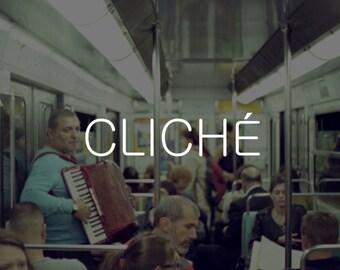 Cliché - Métro