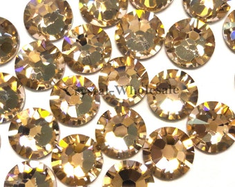 Vintage Rose (319) Swarovski 2058 Xilion/ New 2088 Xirius 34ss Crystal Flatbacks No-Hotfix Rhinestones 7mm ss34 ** FREE Shipping