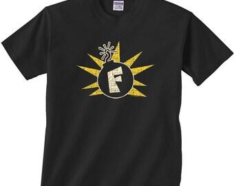 Cool Funny Humor Shirt F Bomb Tee T-Shirt fun shirts tshirts