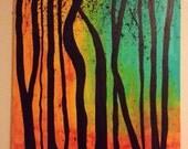 """24x30"""" Infinity Trees"""
