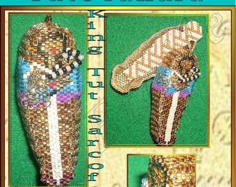 King tut Sarcofagus pattern in italian and french