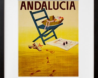 Andalucia Spain Art Travel Poster Tourism Print (TR14)