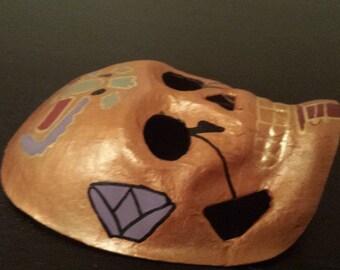 Egyptian Painted Skull