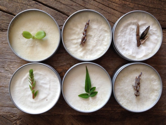 2oz Gift Set of 6 Custom Raw Shea Butter Balms