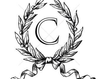 Custom Monogram C Wedding Monogram Monogram Logo