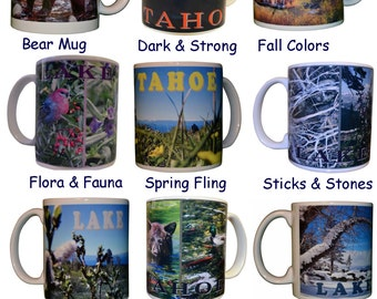 Lake Tahoe Scenic Mug 11 oz. Ceramic