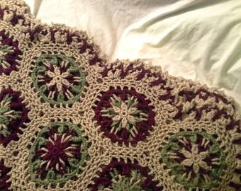 celtic crochet lapghan