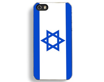 Flag of Israel iPhone 5/5S Case - iPhone 4/4S Case - iPhone 5C Cases