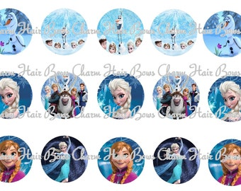 Disney Movie Frozen Bottle cap images