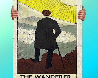 Lost Girl The Wanderer CArd  - Art Print / Poster / Cool Art - Any Size