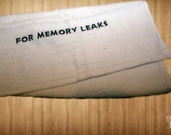 Memory Leaks - Hand Towel for Geeks