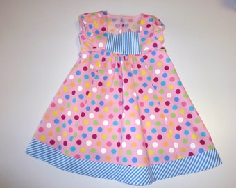 Handmade Baby/Toddler dress, size L