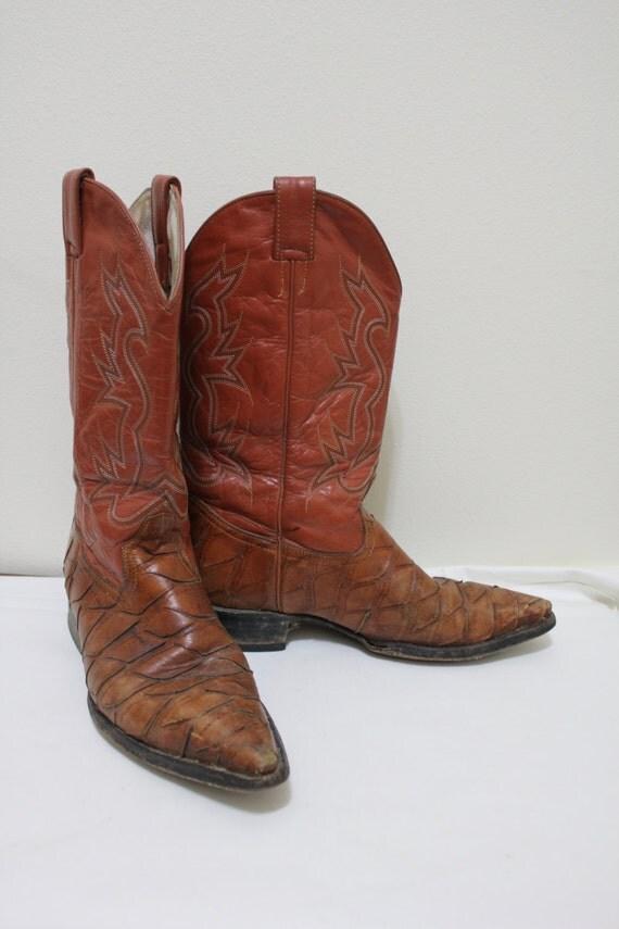 Crocodile skin boots - photo#42