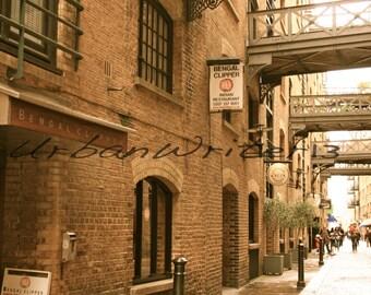 Alleyway Eastside London England