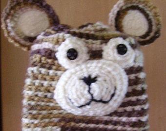 Teddy Bear Beanie Hat
