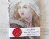 Prayer Cards - Saint Mary Magdalene Prayer Cards — Set 1