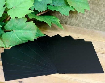 Black Chalkboard Paper (10 Sheets)