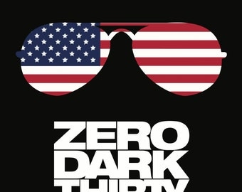 Zero Dark Thirty Minimalist Poster