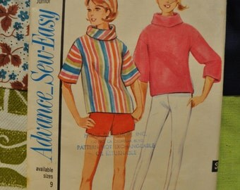 Vintage Advance Sew Easy Women's Pattern