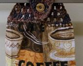 Crochet Top Towel, Coffee Mug