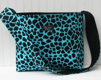 Animal Print Large Bucket Bag