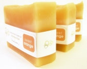 Sweet Orange Shampoo Bar with Jojoba and Meadowfoam Seed Oils