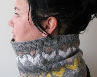 ALKIRA cowl/headband pattern PDF digital download.