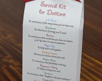Survival Kit for Doctors - Printable PDF