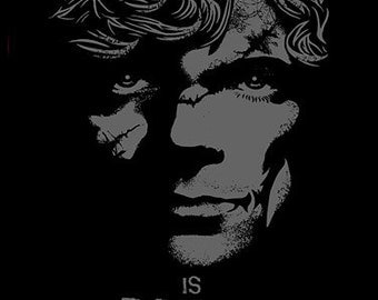 Tyrion t-shirt - Knowledge Is Power - Game of Thrones HBO Lannister