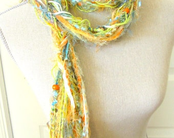 Women Knot Fashion Scarf with Beads - Summertime