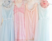 Sherbet Slip Dresses dreamy photography 8x10 vintage mint pink pastel shabby cottage romantic home decor wall art photography print